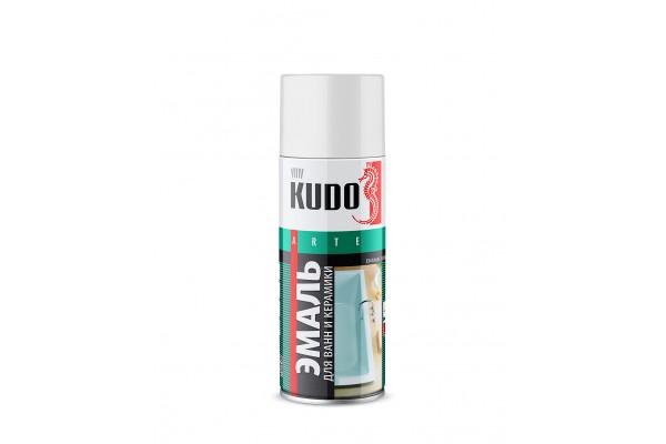 КУДО KU-1301 Эмаль для ванн белая (0,52л)