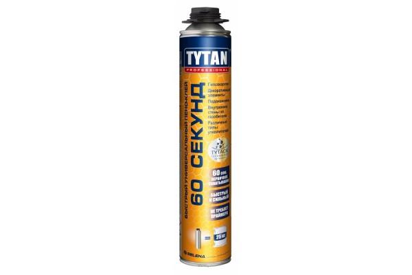 Пено-клей Быстрый 60 секунд Tytan Professional