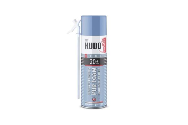 Пена полиуретановая монтажная бытовая всесезонная KUDO HOME 20+