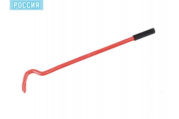 Лом гвоздодер 400 мм круглый,диаметр 17мм.резиновая ручка